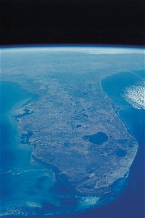 view  florida peninsula  space fine art print