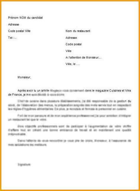 lettre de motivation chef de cuisine lettre de motivation chef de cuisine ohhkitchen com