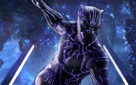 wallpaper black panther  hd movies
