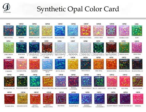 opal color different color shape synthetic opal buy