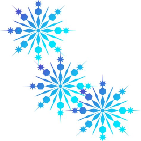 Snowflake Clipart Free Snowflake Falling Vector Freeuse