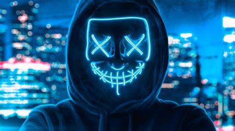 2560x1080 Hoodie Guy Mask Man 2560x1080 Resolution Hd 4k