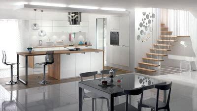 les plus belles cuisines ouvertes formidable cuisine equipee surface 4 cuisine