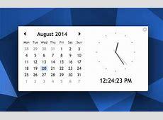 Desktop Calendar Clock App For Chrome and Chrome OS OMG