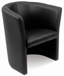 Fauteuil Cuir Noir : mefau club2500 fauteuil club cuir noir 1 place burodepo ~ Melissatoandfro.com Idées de Décoration