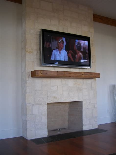 wall mounted flat screen tvs mounted fireplace home