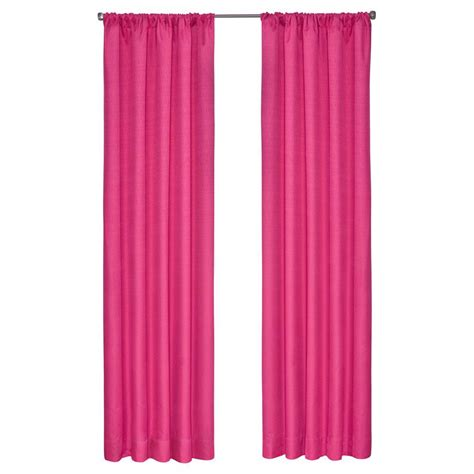 eclipse kendall blackout raspberry curtain panel 63 in