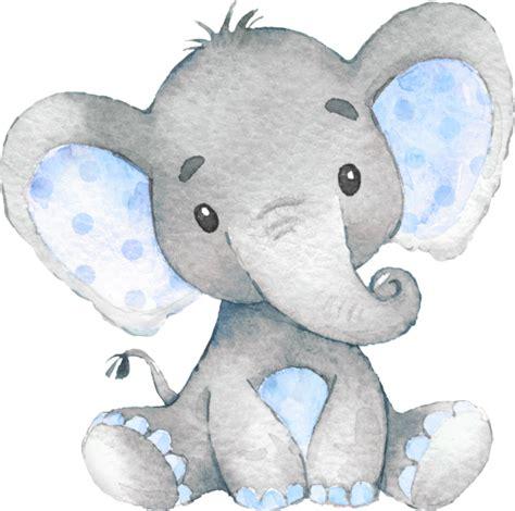 invitacion el muchacho azul baby shower del elefante