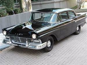 1957 Ford Supercharged Custom 0 Miles Black V8 312 Ford Y