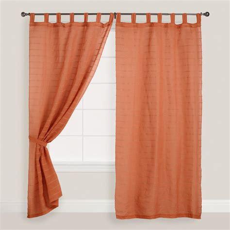 best 25 burnt orange curtains ideas on blue