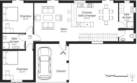 plan maison 5 chambres plan maison 150 m avec 5 chambres ooreka