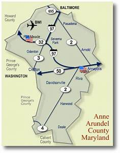 Online Relocation Package for Anne Arundel County, Maryland