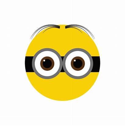Minion Eye Clipart Eyes Minions Round Transparent