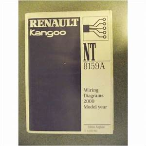 Renault Kangoo Wiring Diagrams Manual 2000 Nt8159a