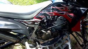 Yfz 450 With Kawasaki 636  Zx6r  Streetbike Engine