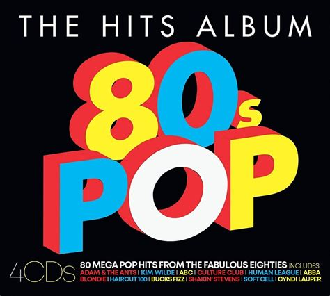 The Hits Album: The 80s Pop Album | CD Box Set | Free ...