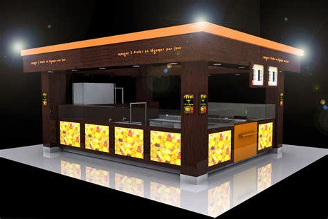 brasserie le bureau kiosque gallerie marchande agencement restauration com