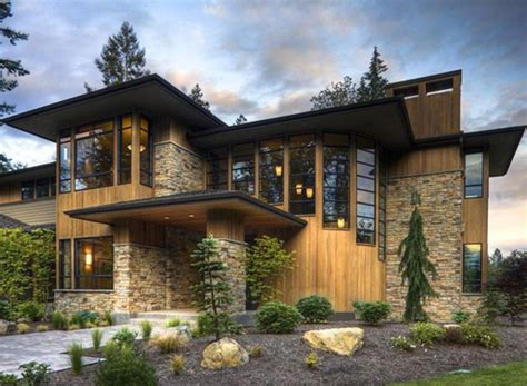 Modern Style Homes by Modern Design Luxury Style House Elevation Photo Modern