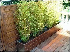 Bambou A Planter : shamwerks terrasse project terrasse project bacs ~ Premium-room.com Idées de Décoration