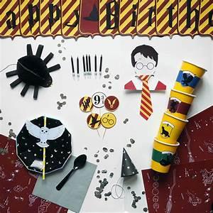 Deco Harry Potter Anniversaire : kit anniversaire harry potter enfant garcon fille achat vente ~ Melissatoandfro.com Idées de Décoration