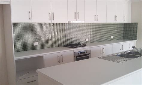 glass tiles kitchen splashback kitchens tiling services australia 3825