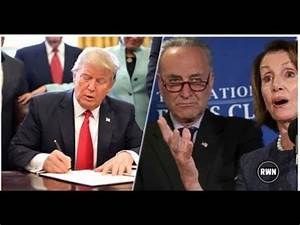 TRUMP SIGNED HIS LATEST EXECUTIVE ORDER! - YouTube