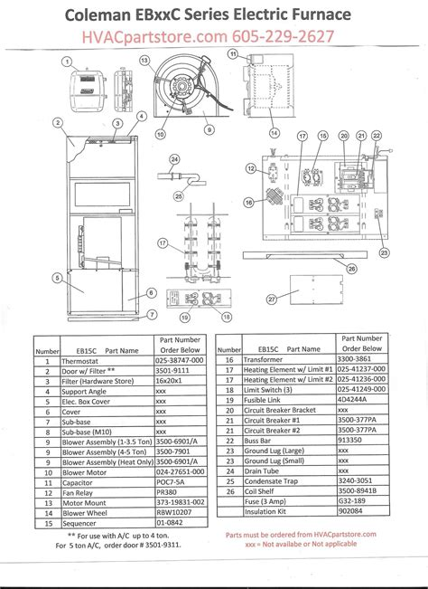 coleman furnace 3500a816 wiring diagram 4k wallpapers parts for a furnace anthonydpmann