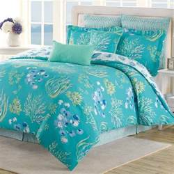 beach coastal reversible king comforter set seashell coral decorative pillows ebay