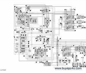 Case 1188 Crawler Wheeled Excavators Schematic Set Pdf