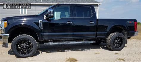 2017 ford f 250 duty fuel maverick d538 country leveling kit custom offsets