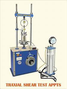 Triaxial Shear Test Apparatus At Rs 1   Number