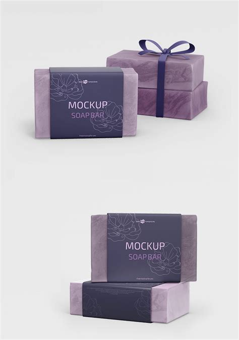 This is the soap bar and paper box mockup shared by original mockups. Free Soap Bar Mockup | Mockuptree