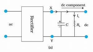 How Does A Capacitor Work As A Filter In Rectifier