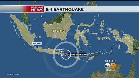 quake kills   tourist island  indonesia wtvrcom