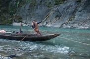 Hubei Badong Along The River Town Tracker Editorial Photo ...
