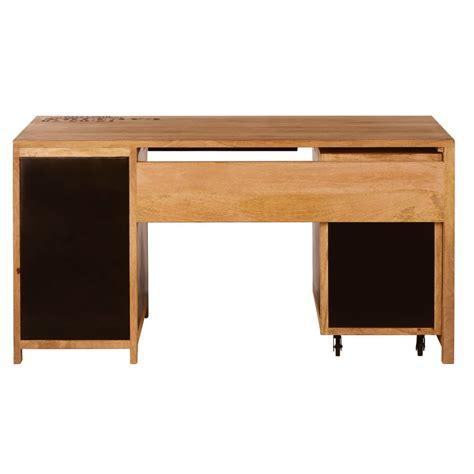 scrivania massello scrivania in massello di mango e metallo manufacture