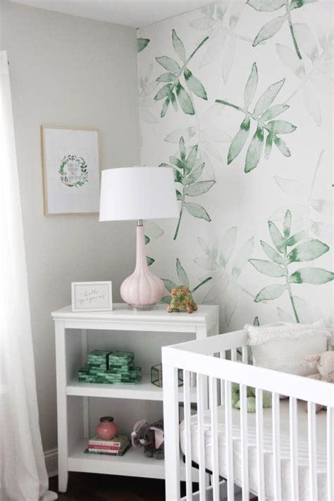 nursery wallpaper ideas  pinterest baby