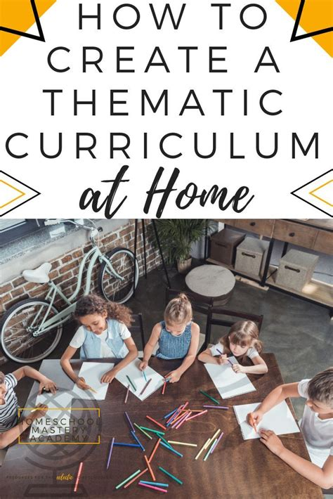 How To Create A Thematic Curriculum At Home - The Easy Way ...