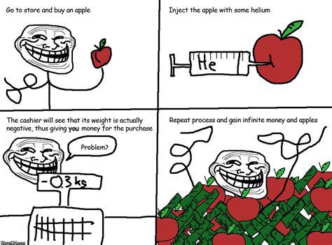 Troll Meme Meme A Day Troll Physics