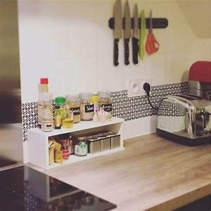 Adhésif Carrelage Cuisine : adh sif cr dence carrelage de cuisine dominot by pauline ~ Premium-room.com Idées de Décoration