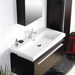 Badmöbel 2 Waschbecken : badm bel set mit 95cm waschbecken unterschrank seitenschrank und sp 549 00 ~ Markanthonyermac.com Haus und Dekorationen