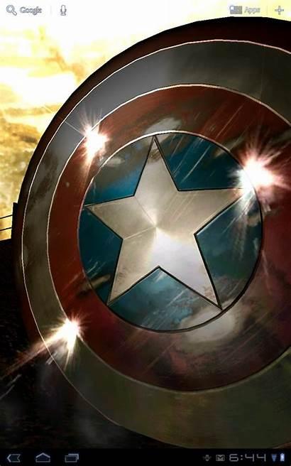 Captain America Android Wallpapers Marvel Livewallpaper Avengers