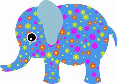 Abstract Animal Vector Elephants Cool Elephant Pixabay