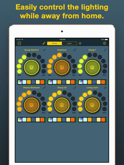 best hue light apps app shopper ihue for philips hue easy control of light
