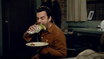 Eating Burrito Nick Need Fatten Thin
