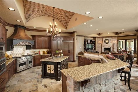 shaped open concept kitchen pictures living room
