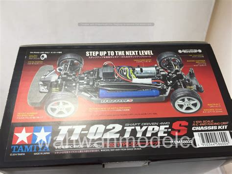 Tamiya 58600 1/10 Rc Tt-02 Type S Chassis Kit Rc On Road