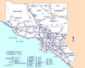 Southern California Freeway Map