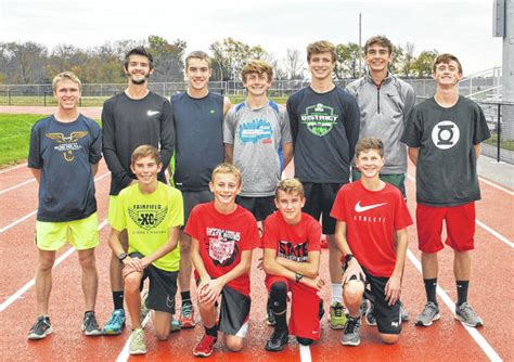 farfield boys ready  state cross country meet times