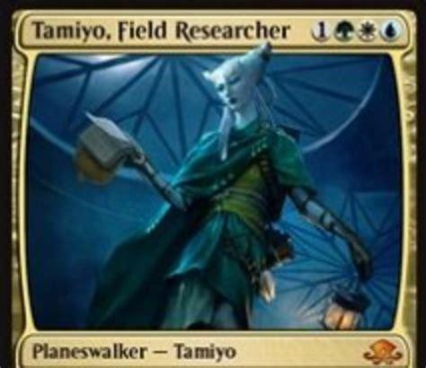 バントカラーの新タミヨウ tamiyo field researcher が異界月に神話レア収録 クリーチャーに